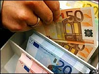 Euro banknotes - file photo