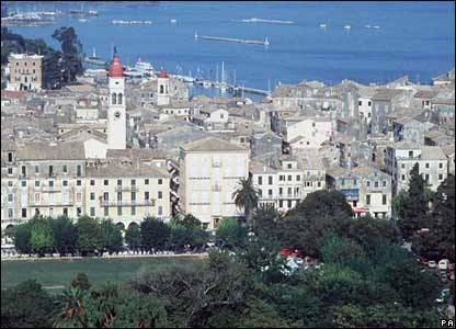 Corfu's old town (file picture)