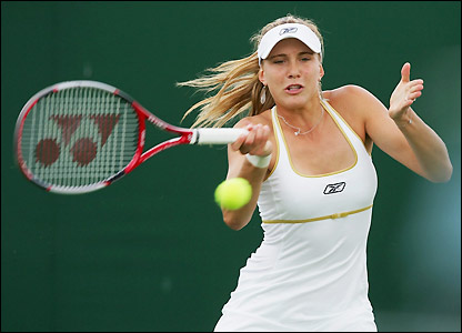 Czech 14th seed Nicole Vaidisova books a place in round three