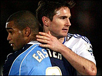 Jermaine Easter and Frank Lampard