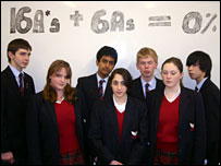 Yarm School students