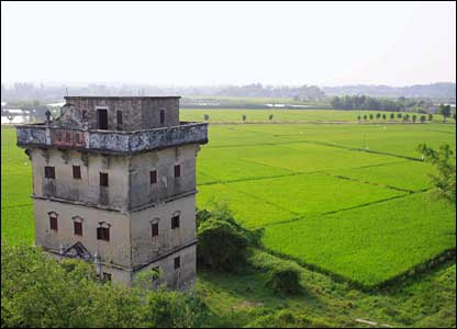 Diaolou villages in Kaiping, China (Credit: Unesco/Zhu Wenjian)