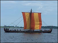 Viking ship, BBC