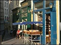 A Paris cafe