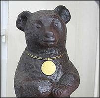 Misha chocolate bear