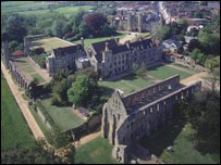 Battle Abbey (picture from English Heritage)