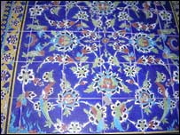 Isfahan tile work