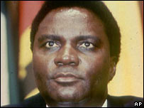 Former President Juvenal Habyarimana