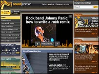 Sound Junction website