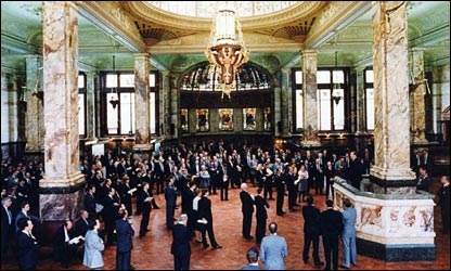Baltic Exchange trading floor