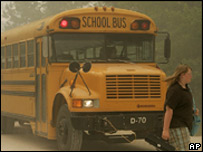A US school bus (file image from 11/05/2007)