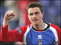 Craig Dargo spent two seasons with Inverness Caley Thistle
