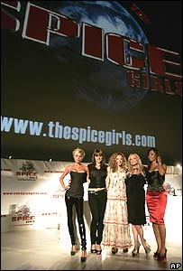 Spice Girls press conference