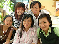 Vietnamese students involved in Little Bubu