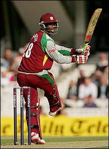 Devon Smith hits outb for West Indies