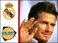 David Beckham will leave Real Madrid for LA Galaxy