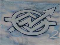 Símbolo de los okupas en Barcelona