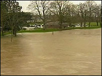 Builth Wells floods