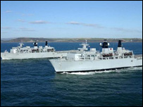 Royal Navy fleet has commissioned 28 new ships