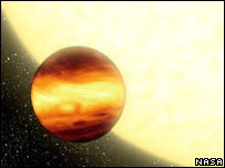 Artist's impression of giant planet. Image: Nasa/JPL-Caltech/R. Hurt (SSC)