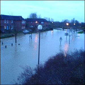 Flooding in Milton Keynes
