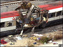 The Madrid train bombings