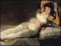Francisco de Goya, La maja vestida