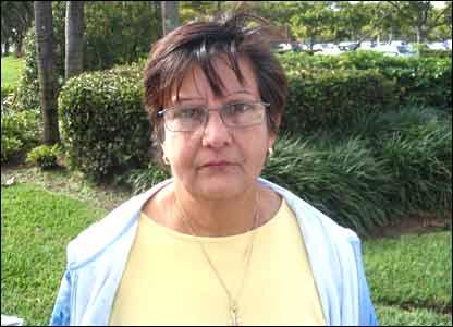 Beatriz Checa, manifestante