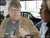 Olli Heinonen, head of the IAEA team in Pyongyang - 29/06/07