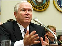 Defence Secretary Robert Gates