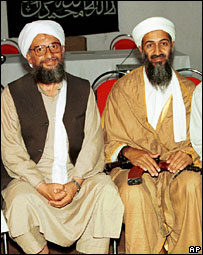 Ayman al-Zawahiri and Osama Bin Laden