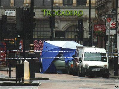 Trocadero, central London