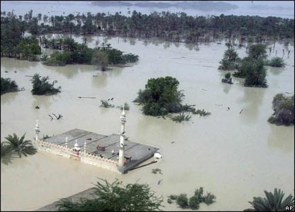 Submerged mosque