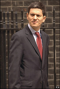 David Miliband, flamante canciller británico