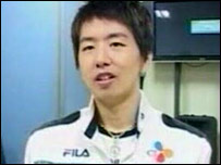 Professional e-sports player Ma Jae-Yoon