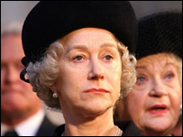 Dame Helen Mirren in The Queen