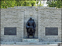 Memorial to Soviet soldiers in Tallinn, Estonia