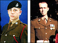 Trooper David Clarke and Corporal Stephen Allbutt