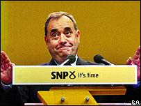 SNP Leader, Alec Salmond