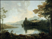 Dolbadarn Castle by Richard Wilson
