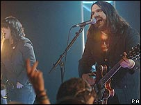 Magic Numbers performing in London last year