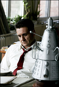 Sergei Korolyov played by actor Steve Nicolson in the BBC film Space Race