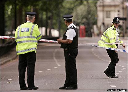 Police in Park Lane
