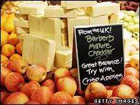 Organic food stall