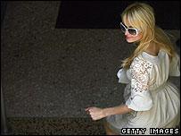 Paris Hilton after prison