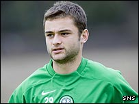 Celtic midfielder Shaun Maloney