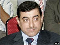 Iraqi Culture Minister Asaad Kamal al-Hashemi. File photo