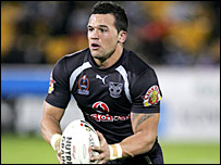 New Zealand Warriors forward Louis Anderson