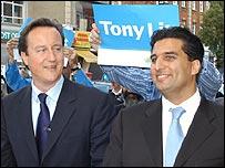 David Cameron and Tony Lit