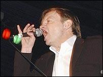 Smith singing